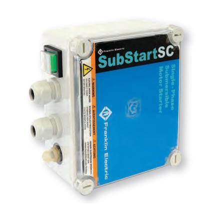 Franklin SubStart 1,1kW IP55