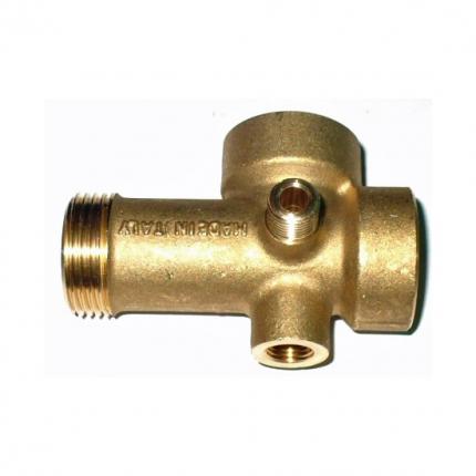 """Pěticestný mosazný ventil pro vodárny 1"""", 82mm"""
